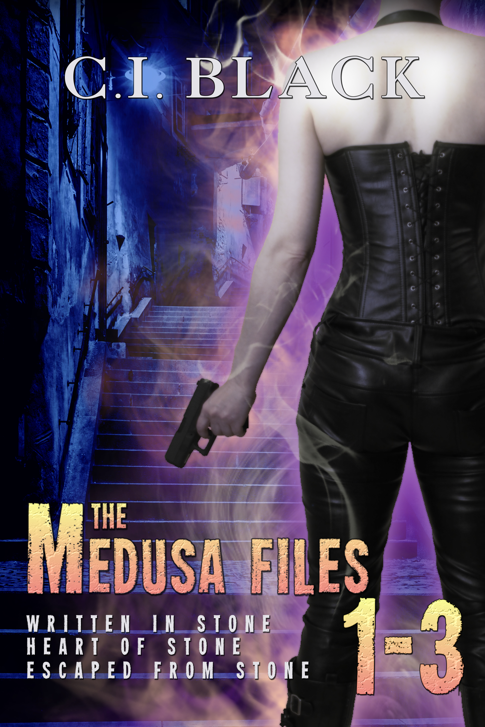 Medusa Files Collection 1 2 3 an urban fantasy / paranormal romance series by C.I. Black