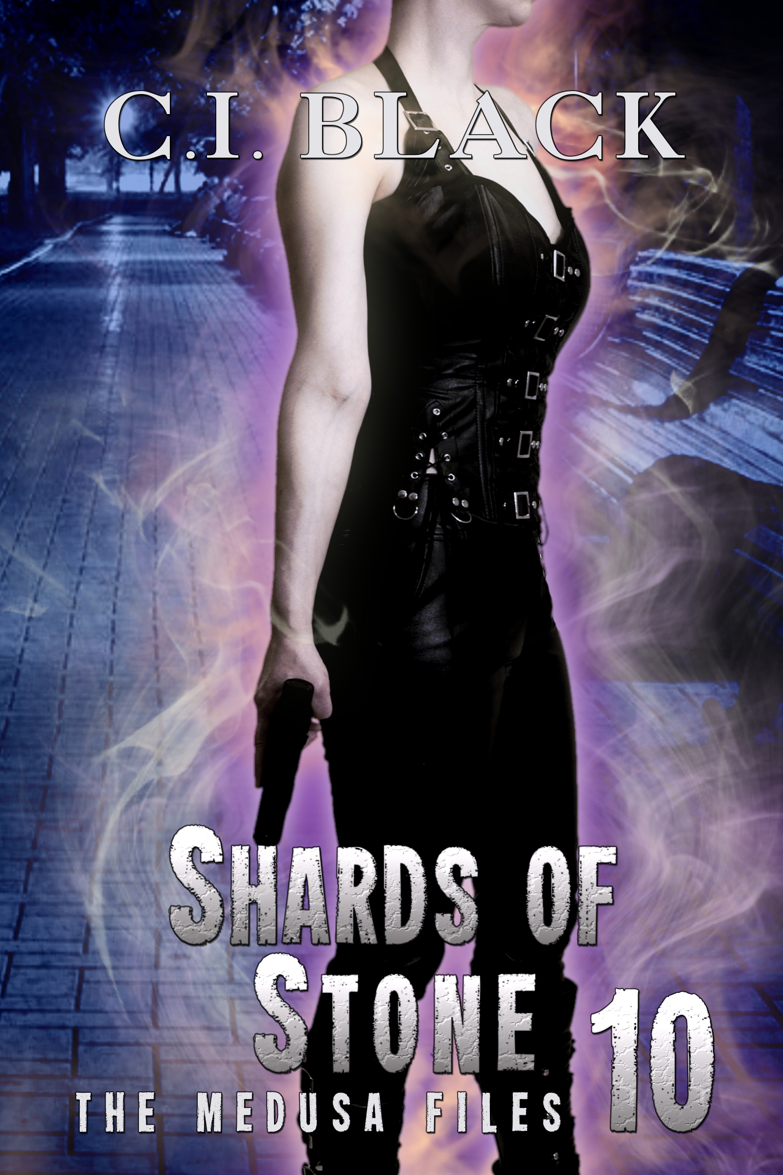 The Medusa Files, case 10: Shards of Stone, an urban fantasy / paranormal romance and the tenth book in the Medusa Files series by C.I. Black