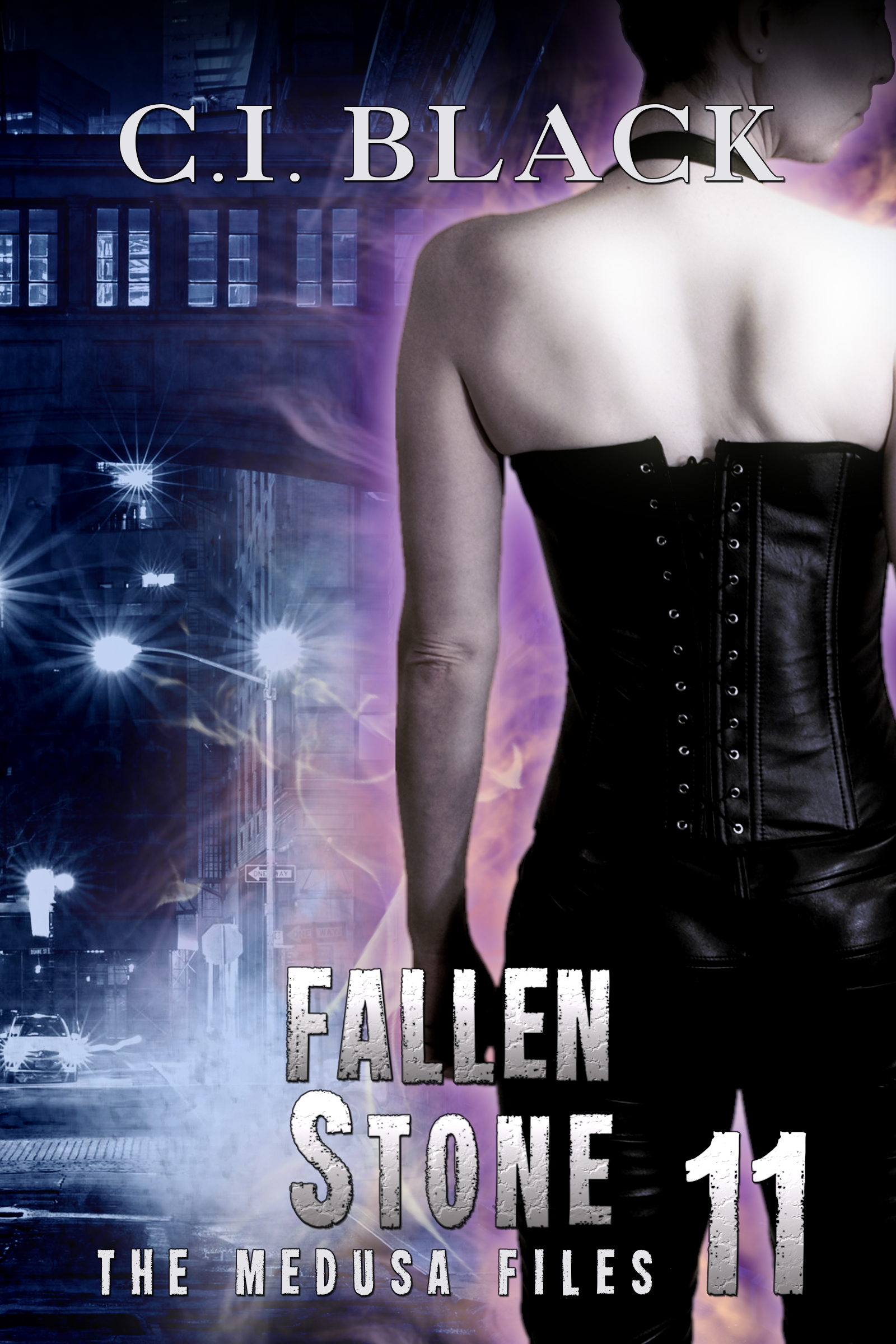 The Medusa Files, case 11: Fallen Stone, an urban fantasy / paranormal romance and the eleventh book in the Medusa Files series by C.I. Black