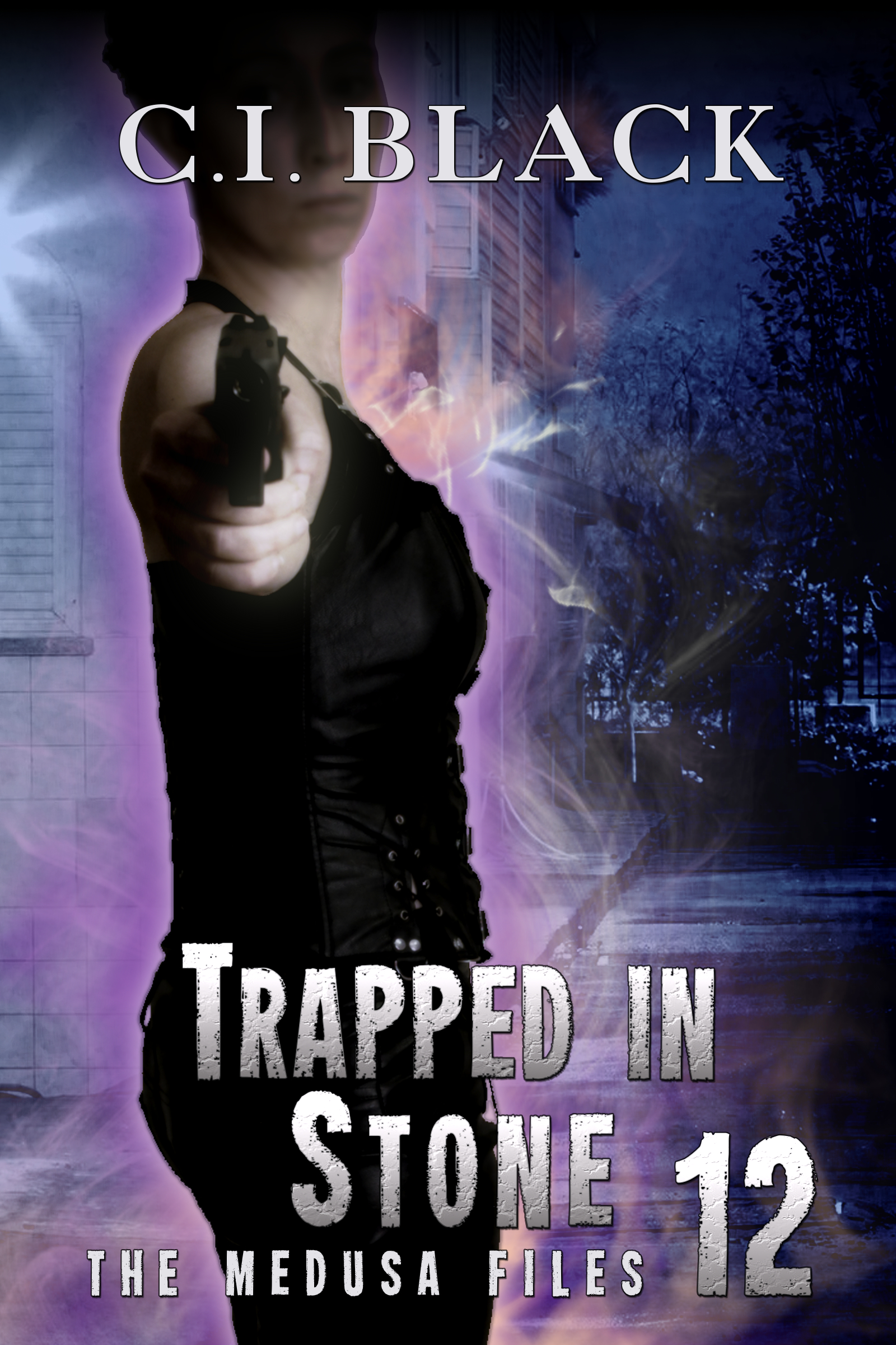 The Medusa Files, case 12: Trapped In Stone, an urban fantasy / paranormal romance and the twelfth and final book in the Medusa Files series by C.I. Black