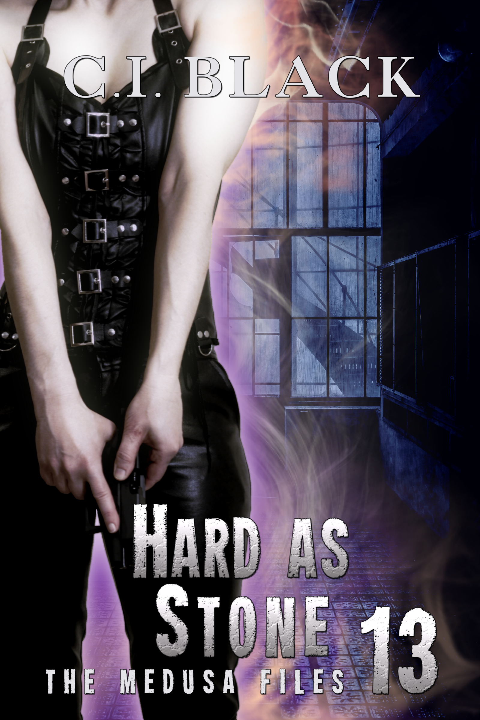 The Medusa Files, case 13: Hard As Stone, an urban fantasy / paranormal romance and the thirteenth and final book in the Medusa Files series by C.I. Black