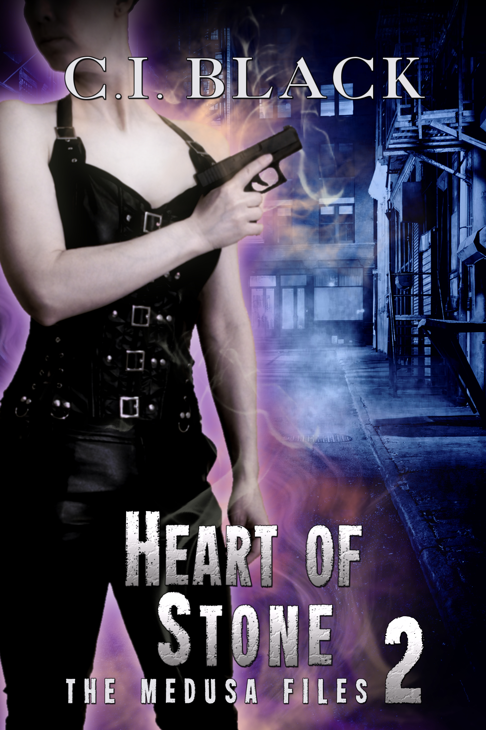 The Medusa Files, case 2: Heart of Stone, an urban fantasy / paranormal romance and the second book in the Medusa Files series by C.I. Black
