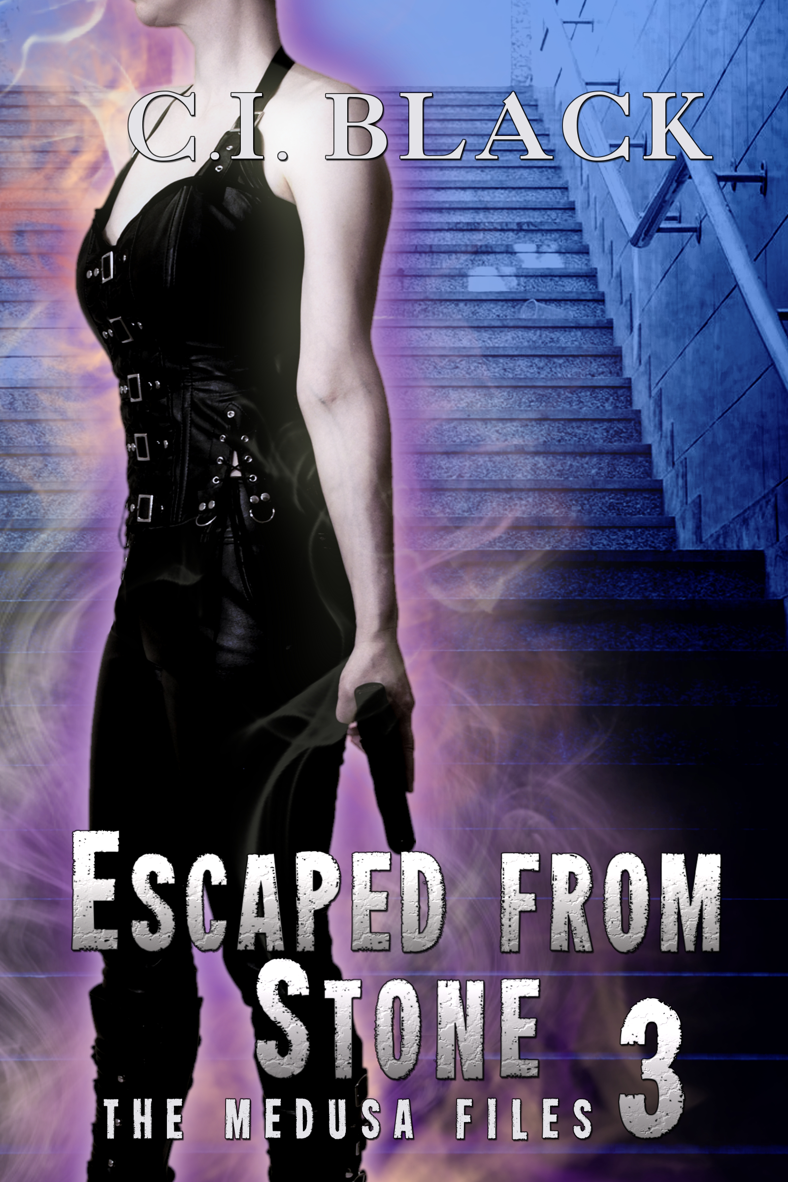 The Medusa Files, case 3: Escaped From Stone, an urban fantasy / paranormal romance and the third book in the Medusa Files series by C.I. Black