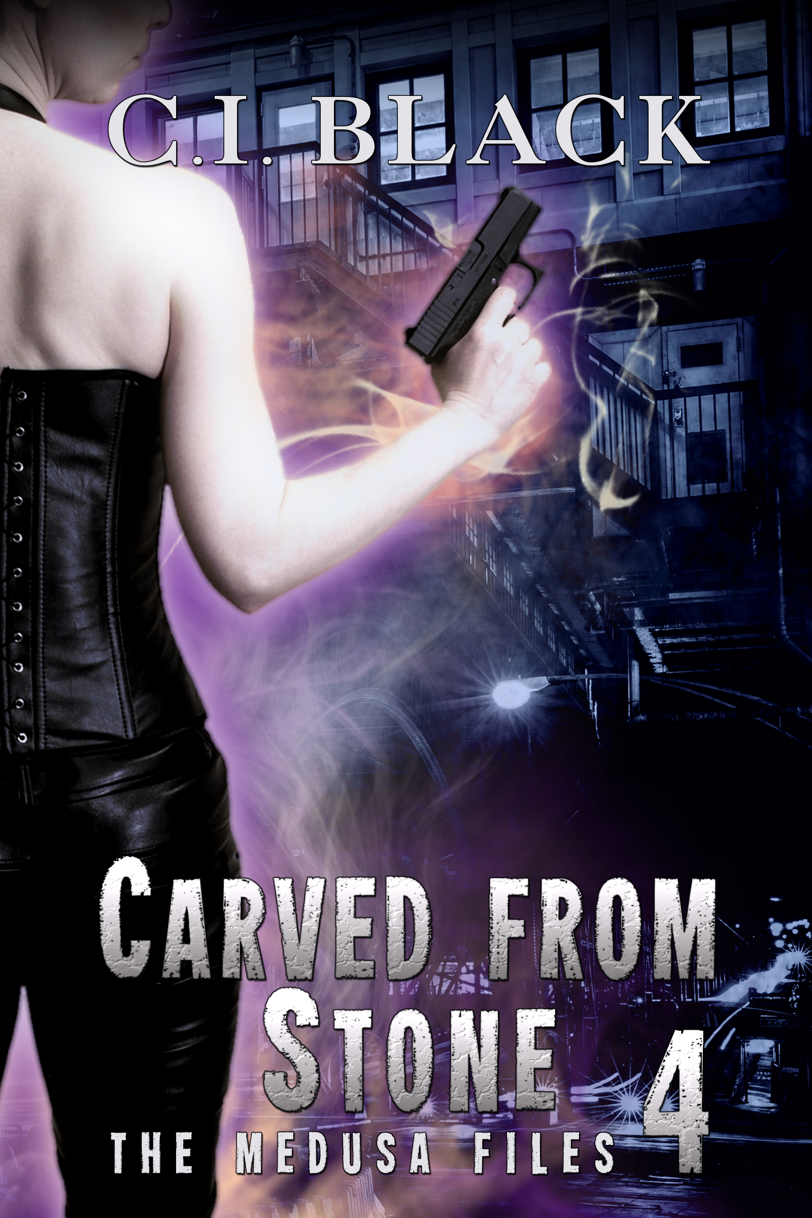 The Medusa Files, case 4: Carved From Stone, an urban fantasy / paranormal romance and the fourth book in the Medusa Files series by C.I. Black