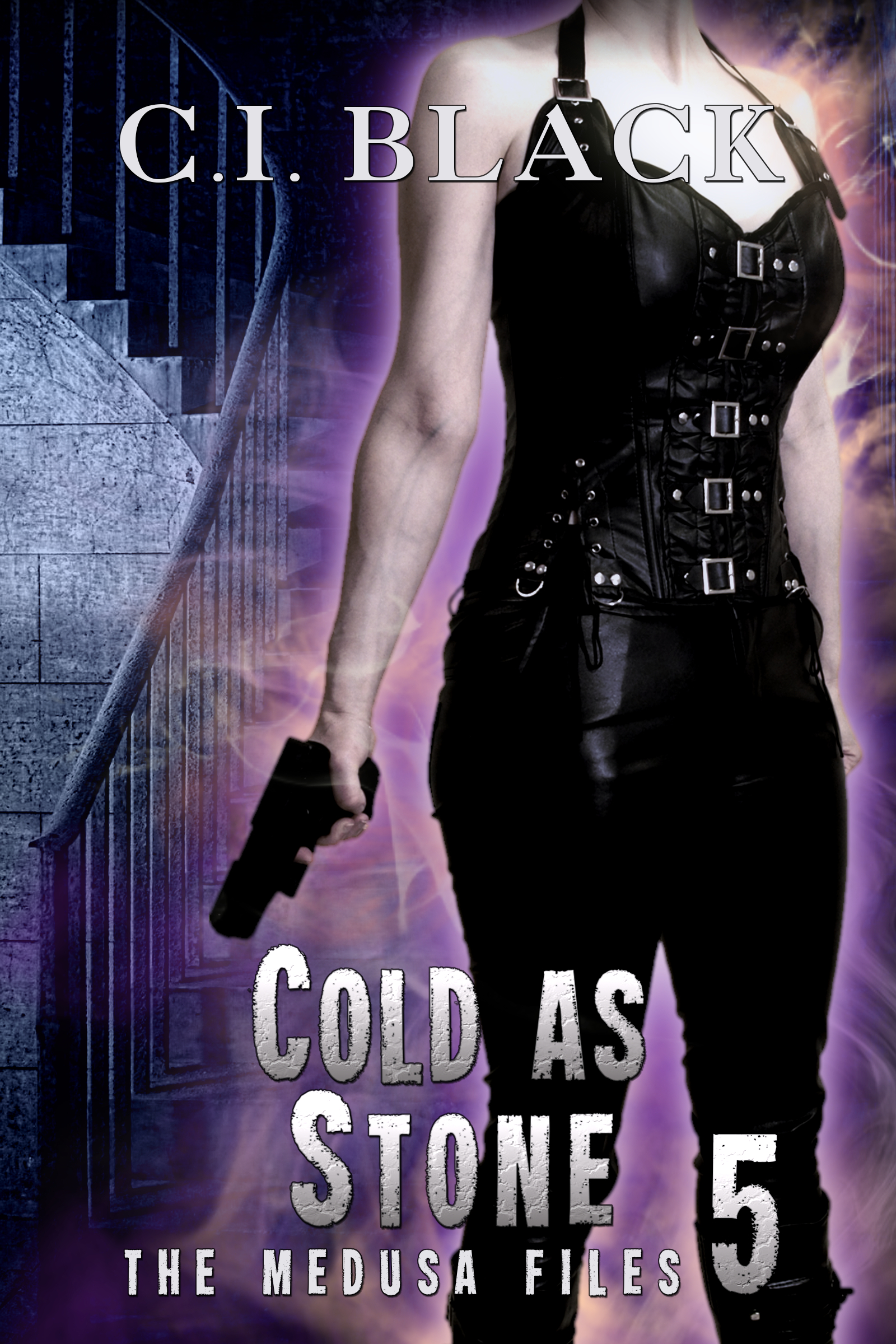 The Medusa Files, case 5: Cold As Stone, an urban fantasy / paranormal romance and the fifth book in the Medusa Files series by C.I. Black