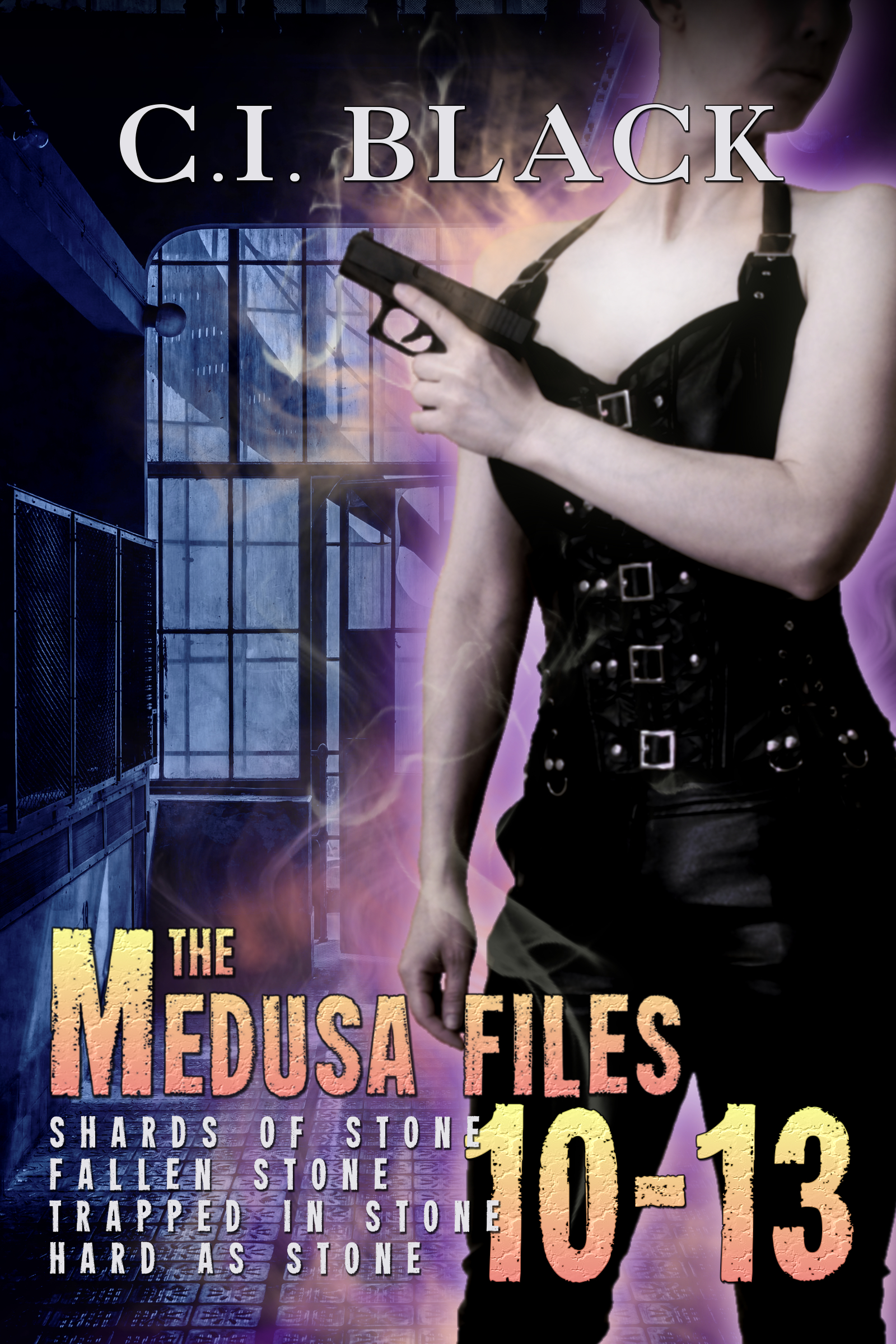 Medusa Files Collection 10 11 12 13 an urban fantasy / paranormal romance series by C.I. Black