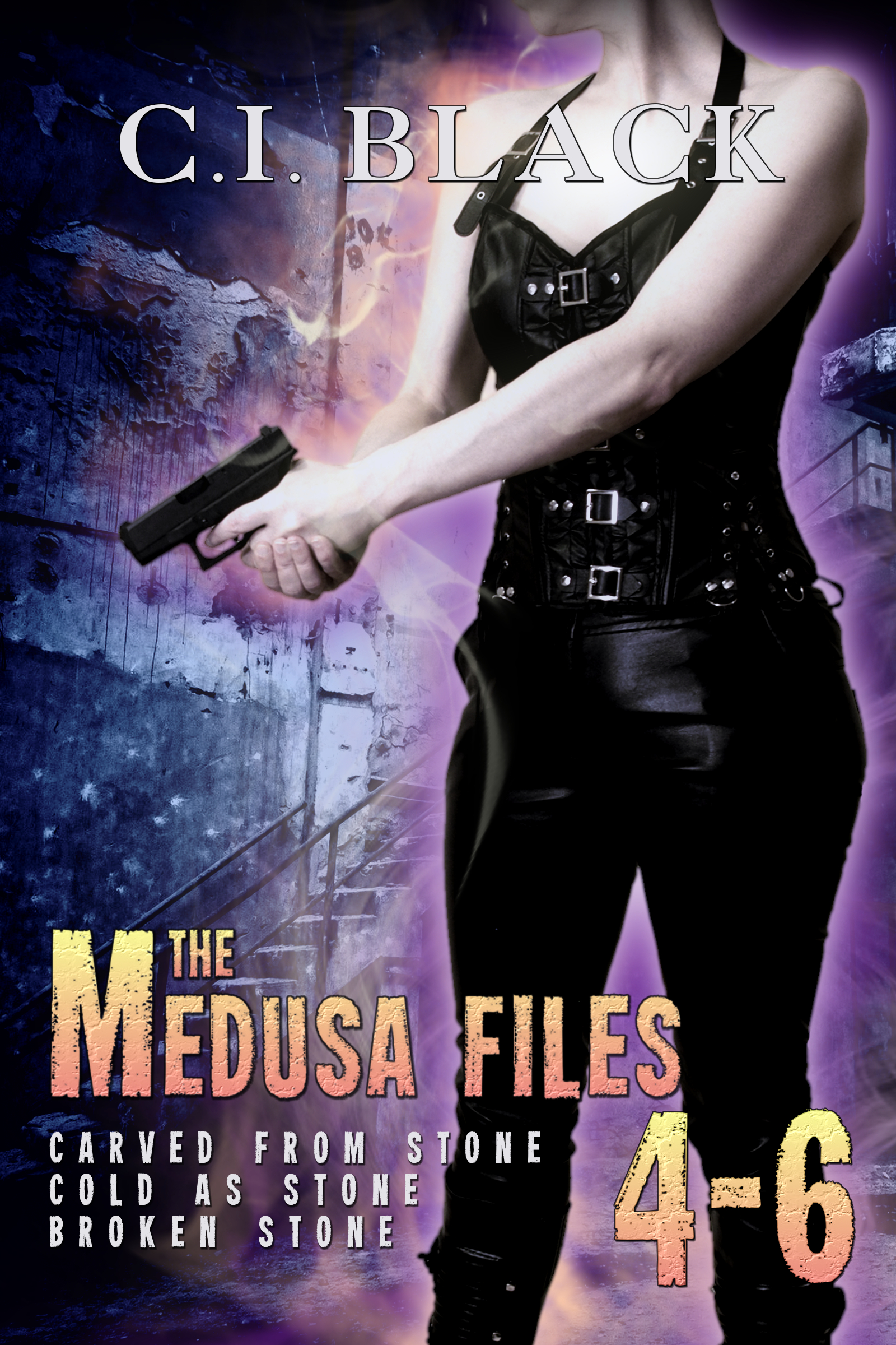 Medusa Files Collection 4 5 6 an urban fantasy / paranormal romance series by C.I. Black