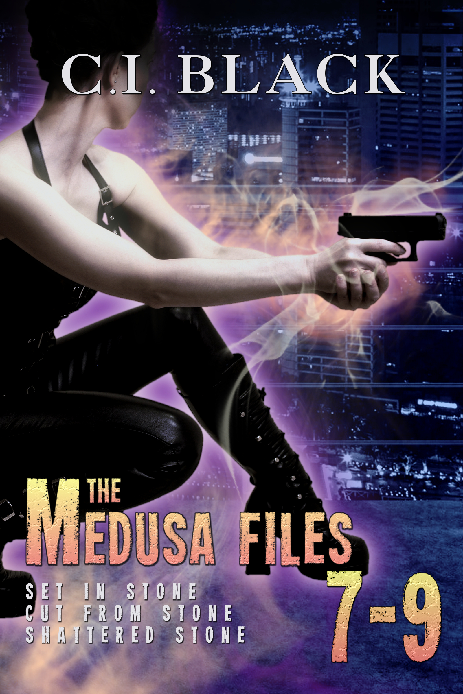Medusa Files Collection 7 8 9 an urban fantasy / paranormal romance series by C.I. Black